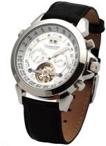 Calvaneo 1583 Calvaneo Astonia Silver Diamond Steel - Polshorloge - 46 mm - Automatisch uurwerk
