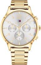 Tommy Hilfiger TH1781872 horloge dames - goud - edelstaal doubl�