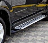 Treeplanken Mercedes Vito Aluminium & Zwart | Mercedes Vito 2003+ 2014+ | L1 | L2