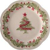 Kerstservies Natal Bordallo Pinheiro Bord 21 cm