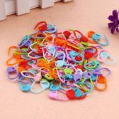 Breimarkeerders / Stitch markers / Steek markers / Steekmarkeerders / Stekenmarkeerringen / Stitch locking - Voor Breien, Haken en Borduren - 100 stuks multicolor
