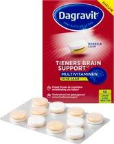 Dagravit Tieners Brain Support Multivitaminen - 50 kauwtabletten