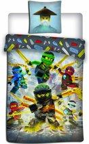 Lego Ninjago Align - Dekbedovertrek - Eenpersoons - 140 x 200 cm - Multi