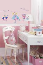 RoomMates Muursticker Fairy Princess - Paars