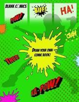 Blank Comics Draw Your Own Comic Book