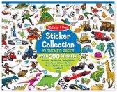 Sticker collectie 500 stuks