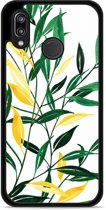 Huawei P20 Lite Hardcase Hoesje Watercolor Flowers