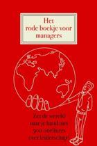 Het rode boekje voor managers