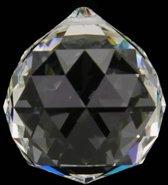 Regenboogkristal bol transparant AAA kwaliteit grootst (1 stuks)