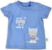 Blue Seven jongens T-shirt - Blauw - maat 62