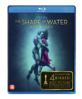 DVD cover van The Shape Of Water (Blu-ray)