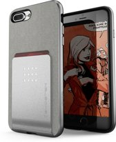 Ghostek Exec 2 Wallet Case Apple iPhone 6 Plus/6s Plus/7 Plus/8 Plus Silver