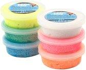 Creotime Foam Clay Creotime Glitter: 6x14 Gram