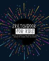 Sketchbook for kids