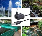 Aquariumpomp - Met USB aansluiting - 1.5 M - Fonteinpomp - Luchtpomp voor vijver, aquarium of vissenkom - Waterpomp - Aquariumpomp - Dompelpomp - Circulatiepomp - USB pompje - Elektrisch - Zwart