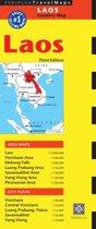 Laos Travel Map
