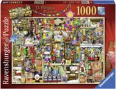 Ravensburger puzzel Colin Thompson The Christmas Cupboard - Legpuzzel - 1000 stukjes