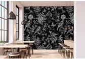 Livingwalls Fotobehang Walls by Patel blackboard 9 - 400x270 cm (B x H)