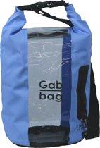 Dry Gabbag - 25 liter - Blauw - 100% waterdicht - Venster