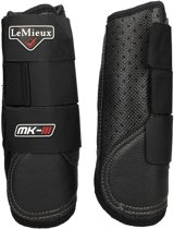Lemieux Beenbeschermers  Stealth Air Xc Voor - Black - full