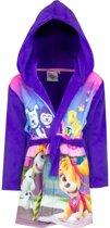 Paarse Paw Patrol badjas met capuchon voor meisjes 98 (3 jaar)