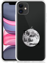 Apple iPhone 11 Hoesje Fly me to the Moon