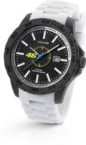 VR46 Collection by TW Steel -  Polshorloge  - 45 mm -  Carbon - Wit