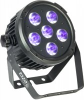 Ibiza Light - PARLED606UV Dmx-bestuurde led par can met 6 x w uv leds