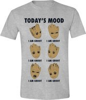 Guardians of the Galaxy - Groot Todays Mannen T-Shirt - Grijs - L