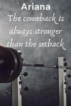 Ariana The Comeback Is Always Stronger Than The Setback