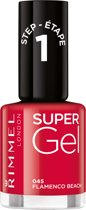Rimmel London SuperGel Gel Nagellak - 045 Flamenco Beach