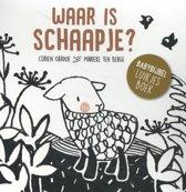 Boek cover Waar is schaapje? van Corien Oranje (Hardcover)