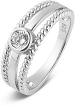 Parte Di Me 925 Sterling Zilveren Bella Vita Marina Ring  (Maat: 52) - Zilver