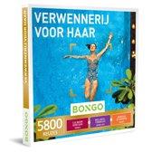 Bongo Bon Nederland - Verwennerij voor Haar Cadeaubon - Cadeaukaart cadeau voor vrouw | 5800 belevenissen: culinair, wellness, actief en meer