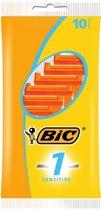 Bic 1 Classic Sensitive - 10 stuks - Wegwerpscheermesjes
