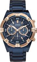 Guess W0377G4 Jolt - Horloge - 47.5 mm - Blauw