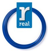 10m High-quality PETG 3D-pen Filament van Real Filament kleur blauw