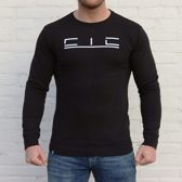 Slim fit Sweater - Extra large - Zwart - Cicwear