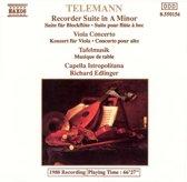 Telemann: Recorder Suite in A minor; Viola Concerto; Tafelmusik