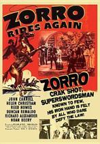 Zorro Rides Again (dvd)