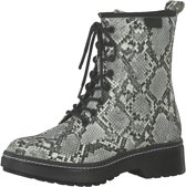 Tamaris Durand Veterboot Dames Grijs/multi/wit