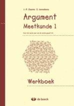 Argument 1 - meetkunde - werkboek
