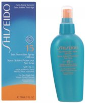 Shiseido Sun Protection Spray Oil-Free SPF 15 Zonnebrand - 150 ml