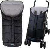 Altabebe Active - Voetenzak universeel - Winterzak voor kinderwagen & buggy - Zwart/lichtgrijs 6-36 mnd