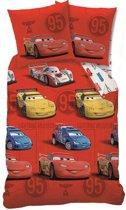 Disney Cars Sponsor Rouge - Dekbedovertrek - Eenpersoons - 140 x 200 cm - Rood