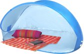 XL Pop-Up Strandtent Beach Shelter - Windscherm Strand Scherm Tent - Zonnescherm Waterafstotend UV Bescherming - Strandscherm Beachshelter