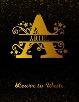 Ariel Learn to Write