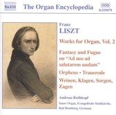 Liszt: Organ Works Vol.2