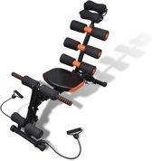 Vinz Ab Builder Pro - Buikspiertrainer / Buikspierapparaat / Fitnessapparaat 6 in 1
