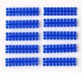 Ministeck 10 x 1 Kleurstrips - donkerblauw